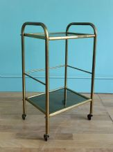 French mid century brass trolley - SOLD